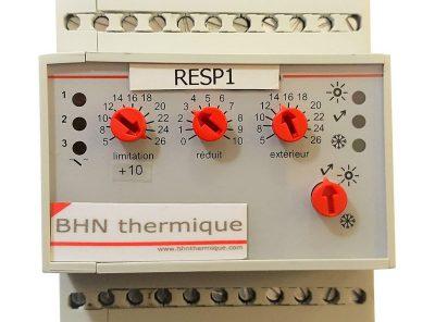 Régulateur électronique simple pente RESP1