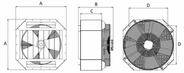 Gamme DEB dimensions
