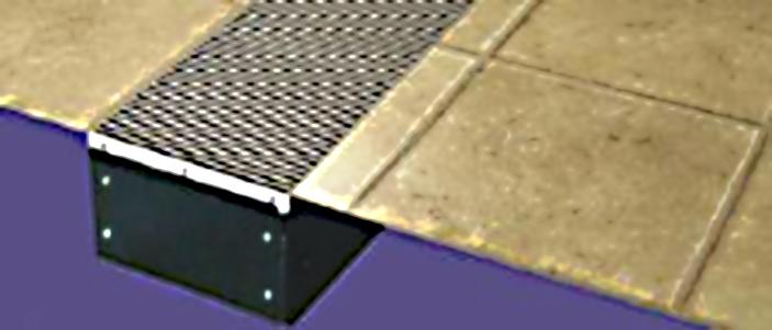 Convecteur électrique à insérer dans le sol TH