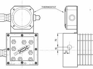 BNEX-C avec thermostat monté
